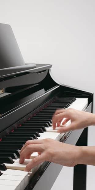 digitale piano spelen