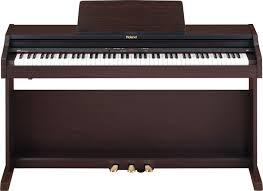Piano Roland RP301 bruin