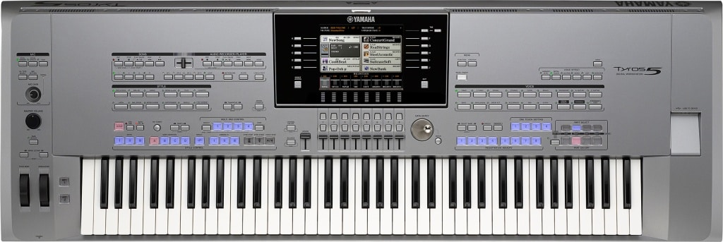 yamaha tyros5 keyboard piano
