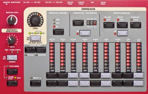 Clavia Nord Stage 2 HA88 display