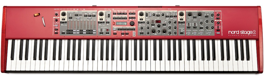 Nord Stage 2 EX OVERVIEW - YouTube