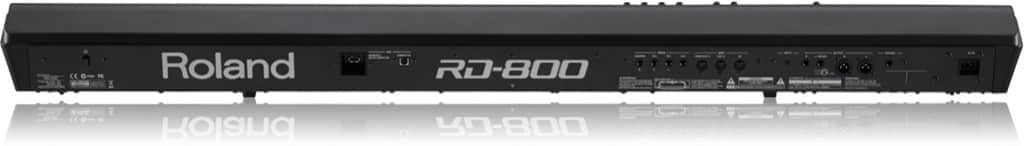 Roland RD800 back
