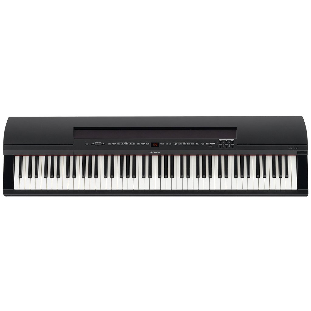 front Yamaha P255 digitale piano review