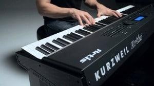 Kurzweil Artis spelen sfeer