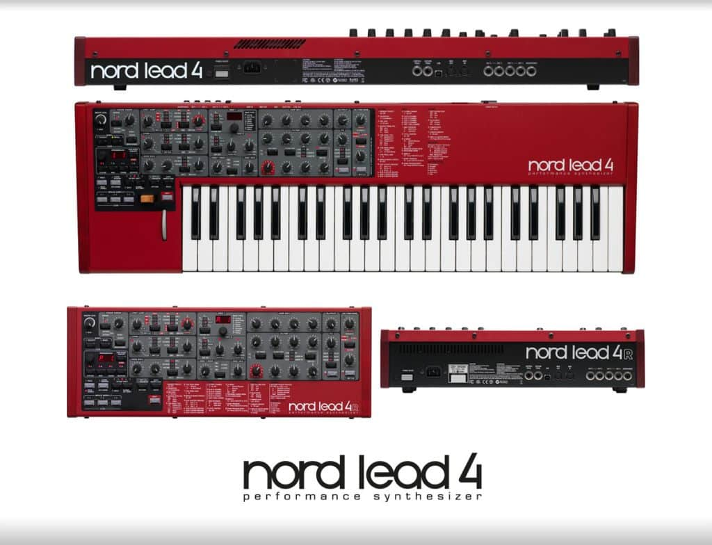 synthesizer Clavia Nord Lead 4 review