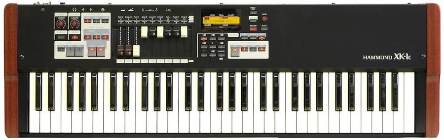 Hammond XK1C review synthesizer keyboard