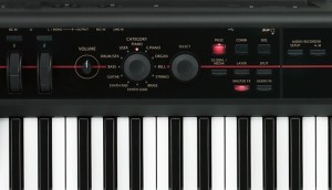 Korg Kross display synth