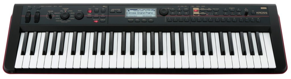 Korg Kross workstation piano review