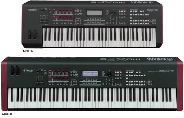 MOXF6-MOXF8 synthesizer keyboard