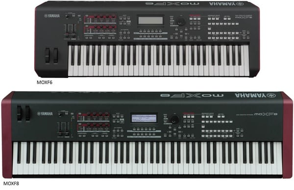 MOXF6-MOXF8 synthesizer keyboard