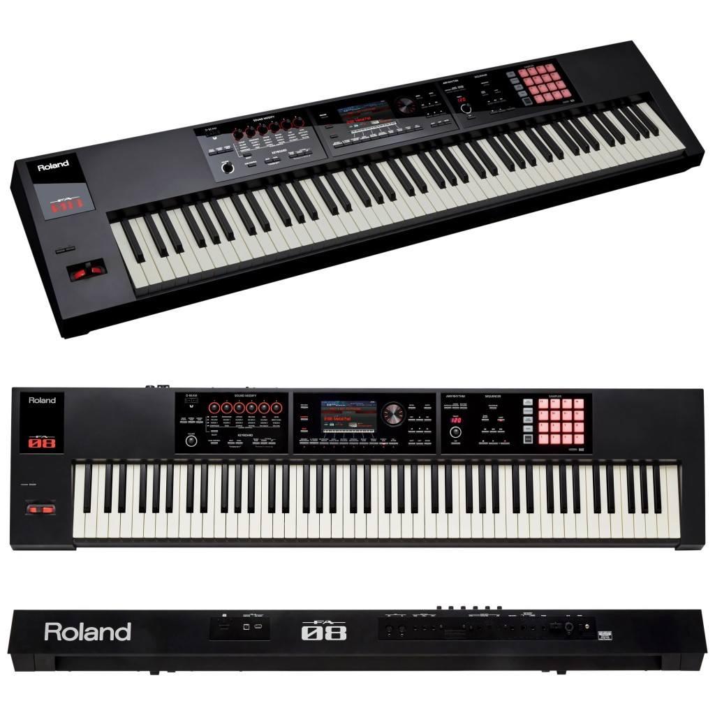 Roland FA-08 keyboard synthesizer