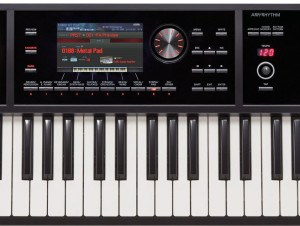 Roland FA display keyboard