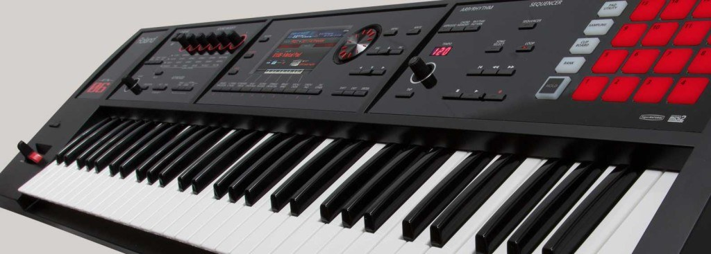 Roland FA review synthesizer keyboard