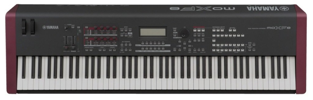 Yamaha MOXF8 review keyboard synthesizer