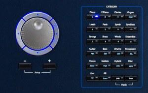 Kurzweil PC3 LE display
