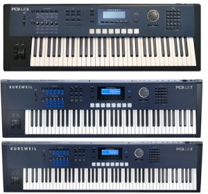 Kurzweil PC3 LE synthesizers