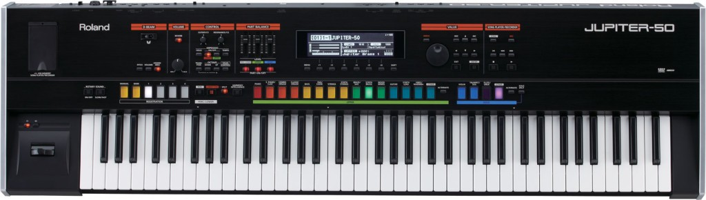 Roland Jupiter 50 synthesizer review
