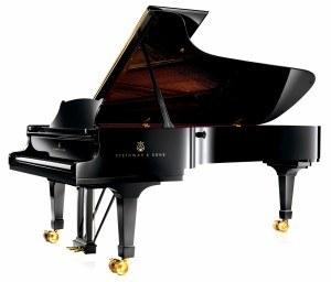 Steinway grand piano geluid