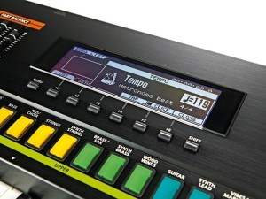 Synthesizer Roland Jupiter 50 display