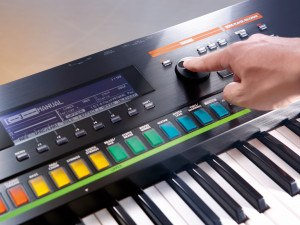 Synthesizer Roland Jupiter 50 draaiknop