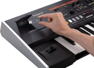 usb Roland Jupiter 50 synthesizers