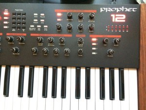 Dave Smith Prophet 12 review display