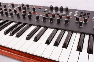 Dave Smith Prophet 12 review keybed close