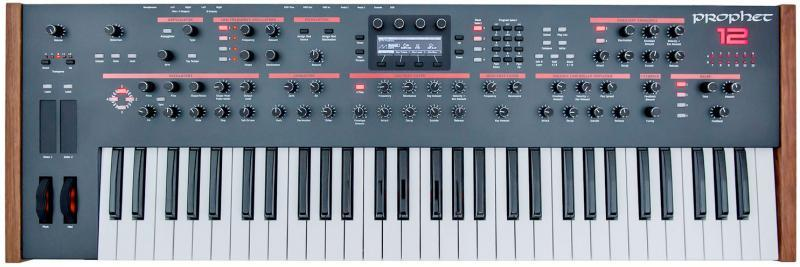 Dave Smith Prophet 12 review keybed