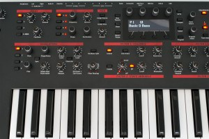Dave Smith Pro 2 synthesizer console