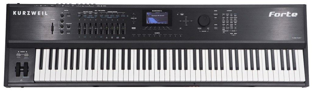Kurzweil Forte review front