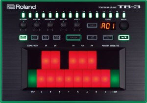 Roland TB-3 Review Touch Bassline display