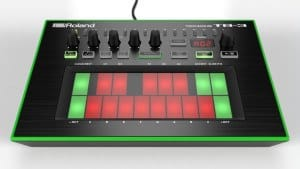 Roland TB-3 Review display Touch Bassline d