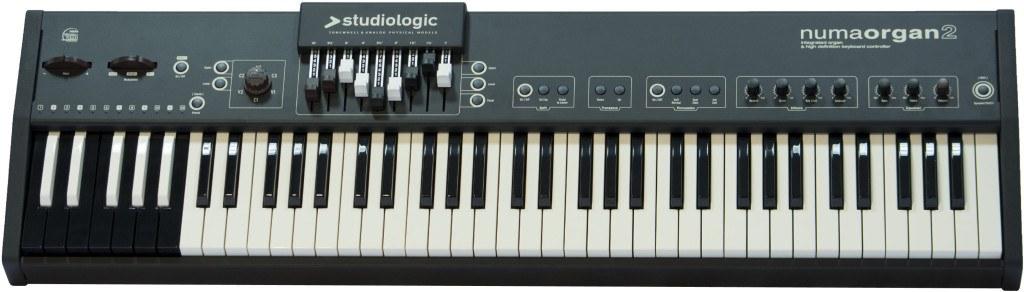 Studiologic Numa Organ 2 review keybed