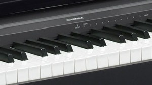 Yamaha P45 digitale piano keybed