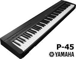 Yamaha P45 review digitale piano