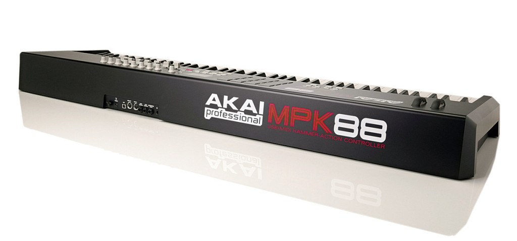 akai mpk 88 review piano