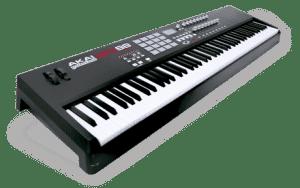 Akai MPK 88 review digitale piano