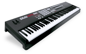 Akai MPK 88 review digitale piano