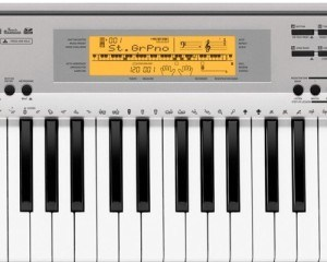 Casio CDP 230R piano led scherm