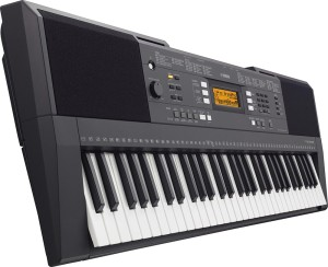 Yamaha PSR-E343 review keyboard