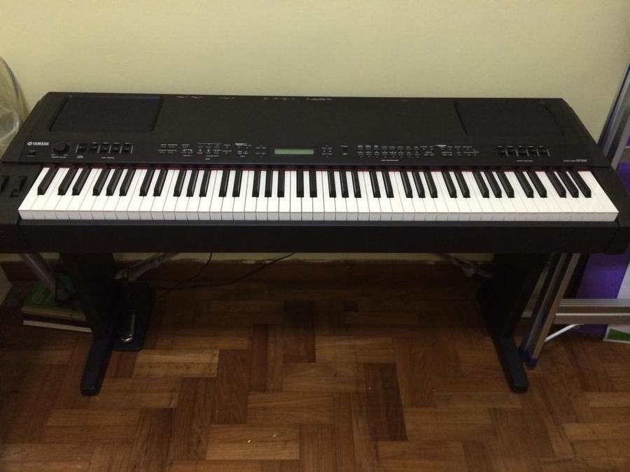 yamaha cp300 review high end stage piano