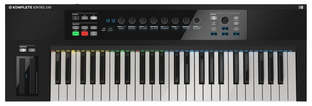 native instruments komplete kontrol s49 kopen review
