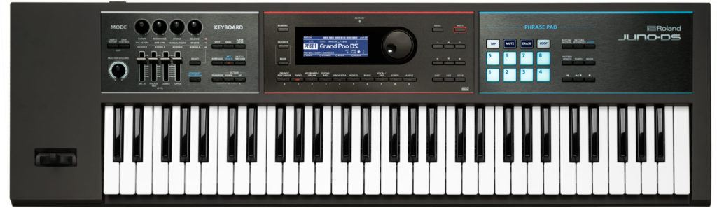 roland juno ds61 review synthesizer
