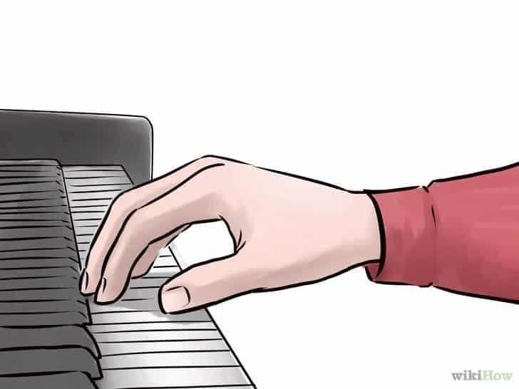Plaatsing van de handen