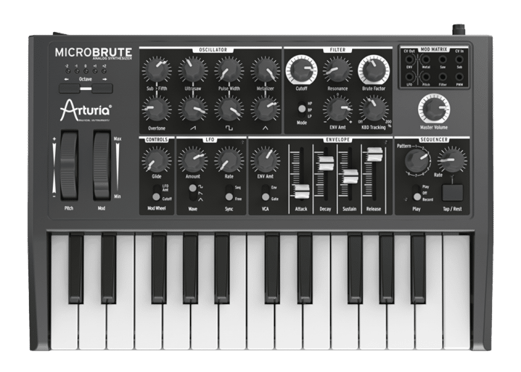arturia microbrute review. Black Bedroom Furniture Sets. Home Design Ideas