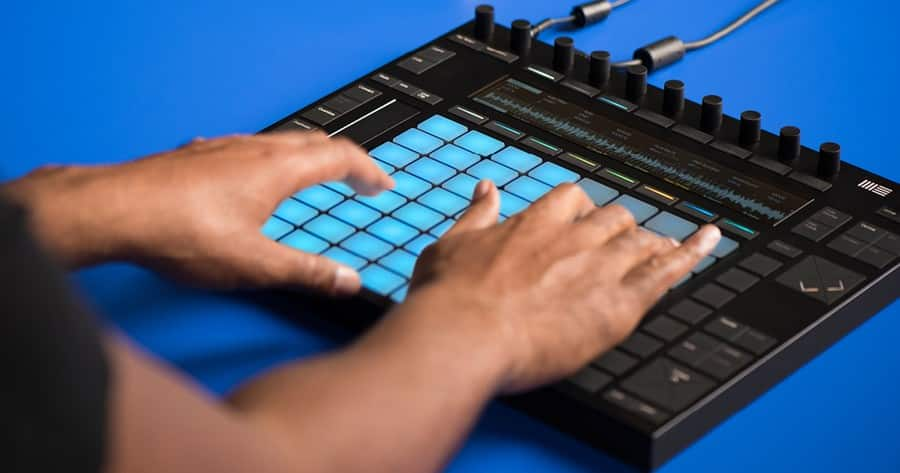 Ableton Live MIDI Review Ableton Push 2