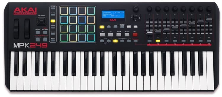 Ableton Live MIDI Review Akai MPK249