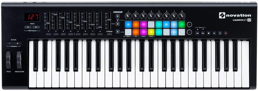 Ableton Live MIDI Review Novation Launchkey 49 MK2