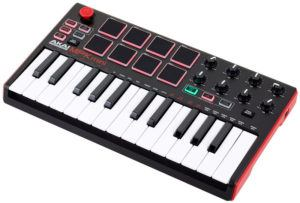 MIDI Controllers Akai MPK Mini MK2