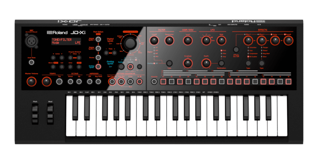 Roland JD-Xi review synthesizer
